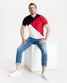 Tommy Hilfiger Diagonal Colorblock Polo T-Shirt