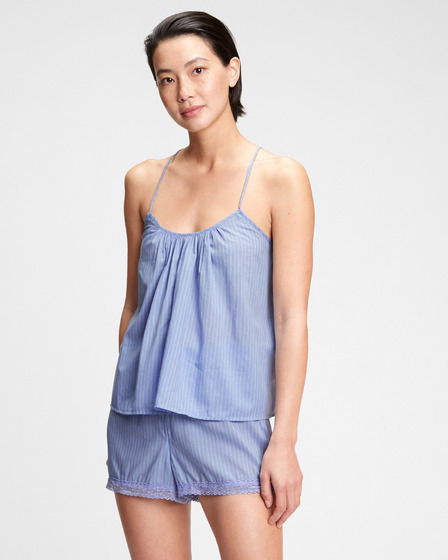 GAP Dreamwell Shirred Racerback Tank top for sleeping