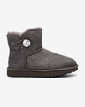 UGG Mini Bailey Button Bling Schneestiefel